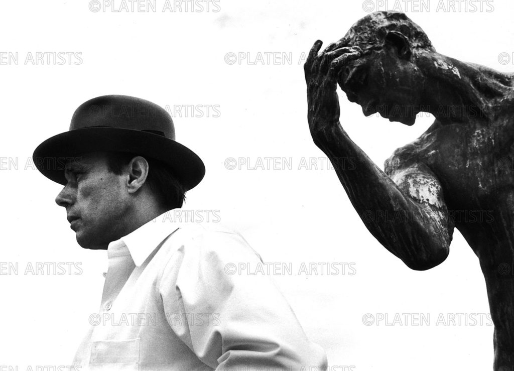 Joseph Beuys, Reverenz, Hamburg 1968