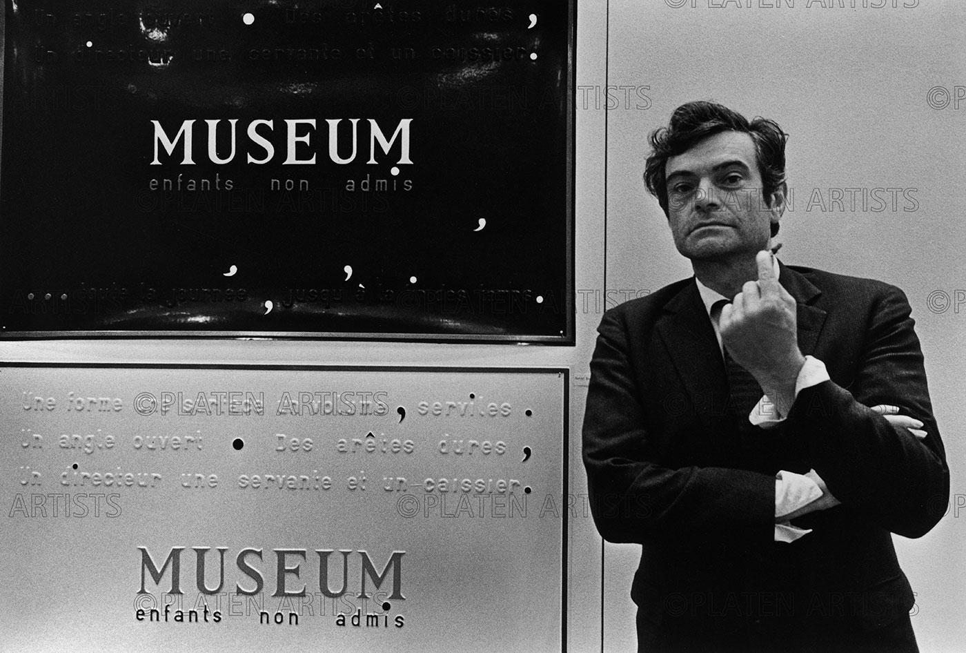 Marcel Broodthaers, Musée d'art Moderne: Kinder nicht zugelassen, Düsseldorf, 1968