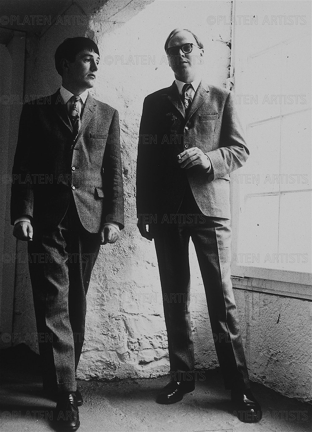 Gilbert&George, The Living Sculptures, unzertrennlich, Kassel, 1972