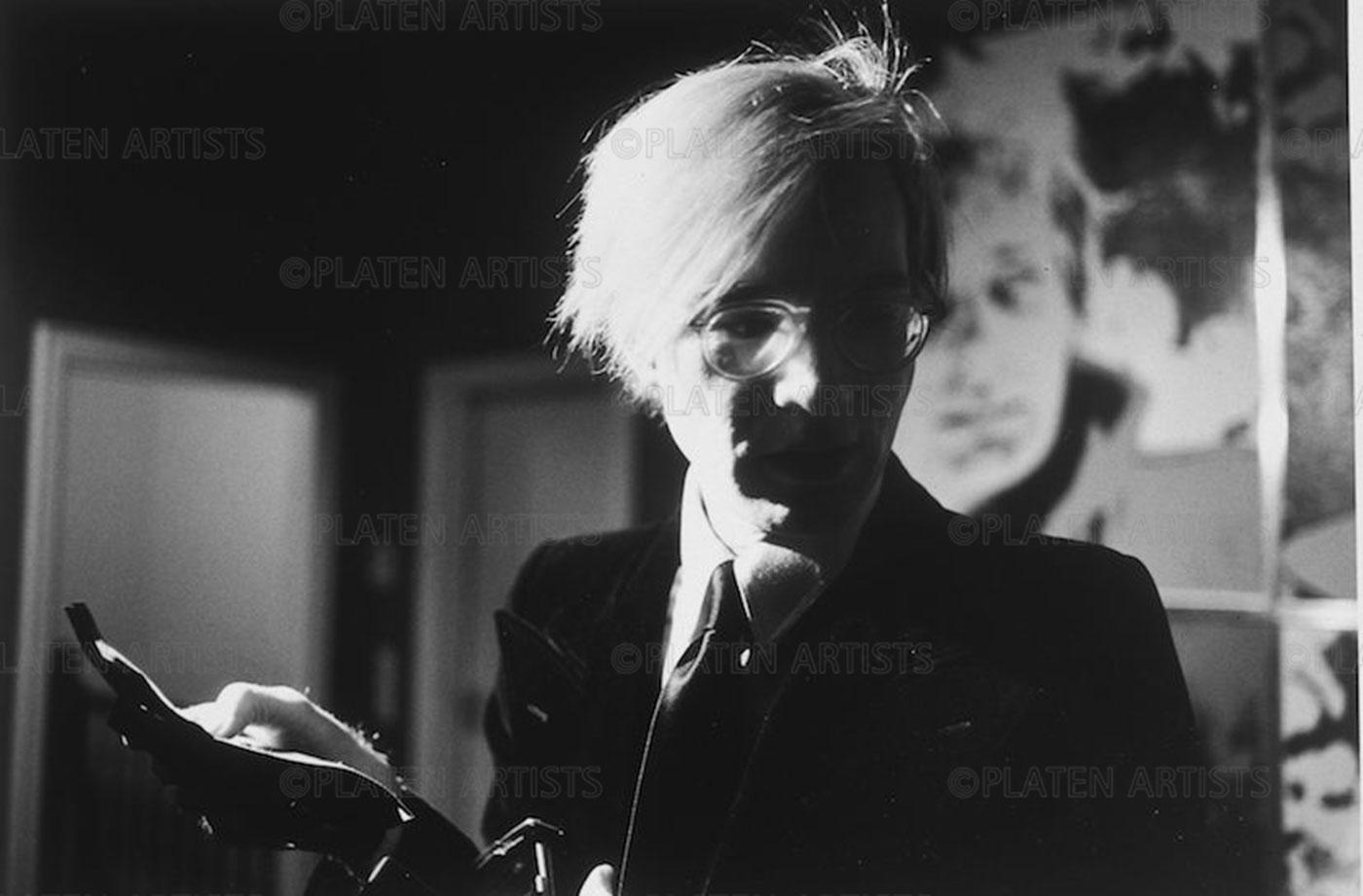 Andy Warhol, Der Star bei Gunter Sachs , Hamburg 1972