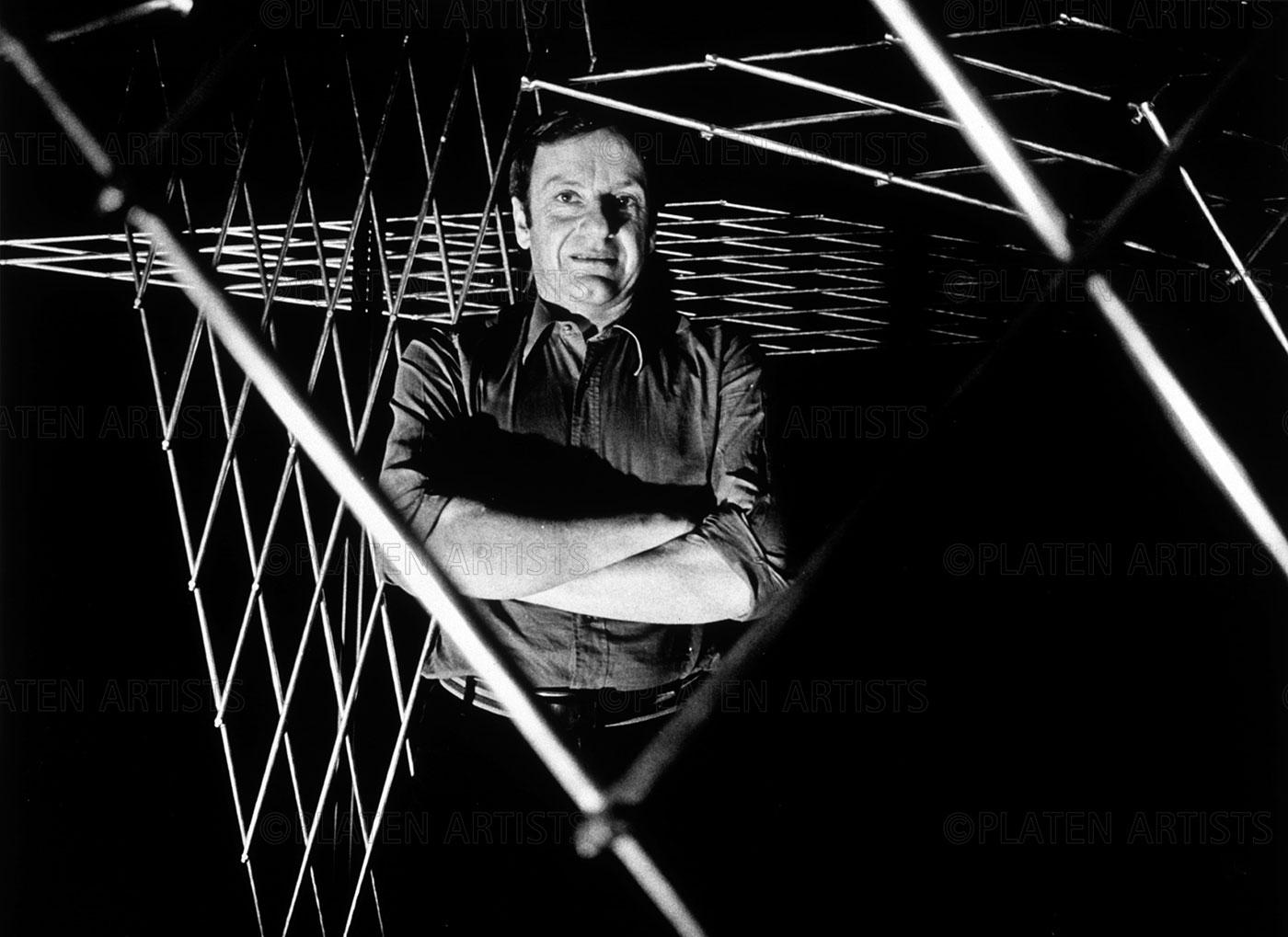 François Morellet, François twischen den Zeiten, Kassel 2000