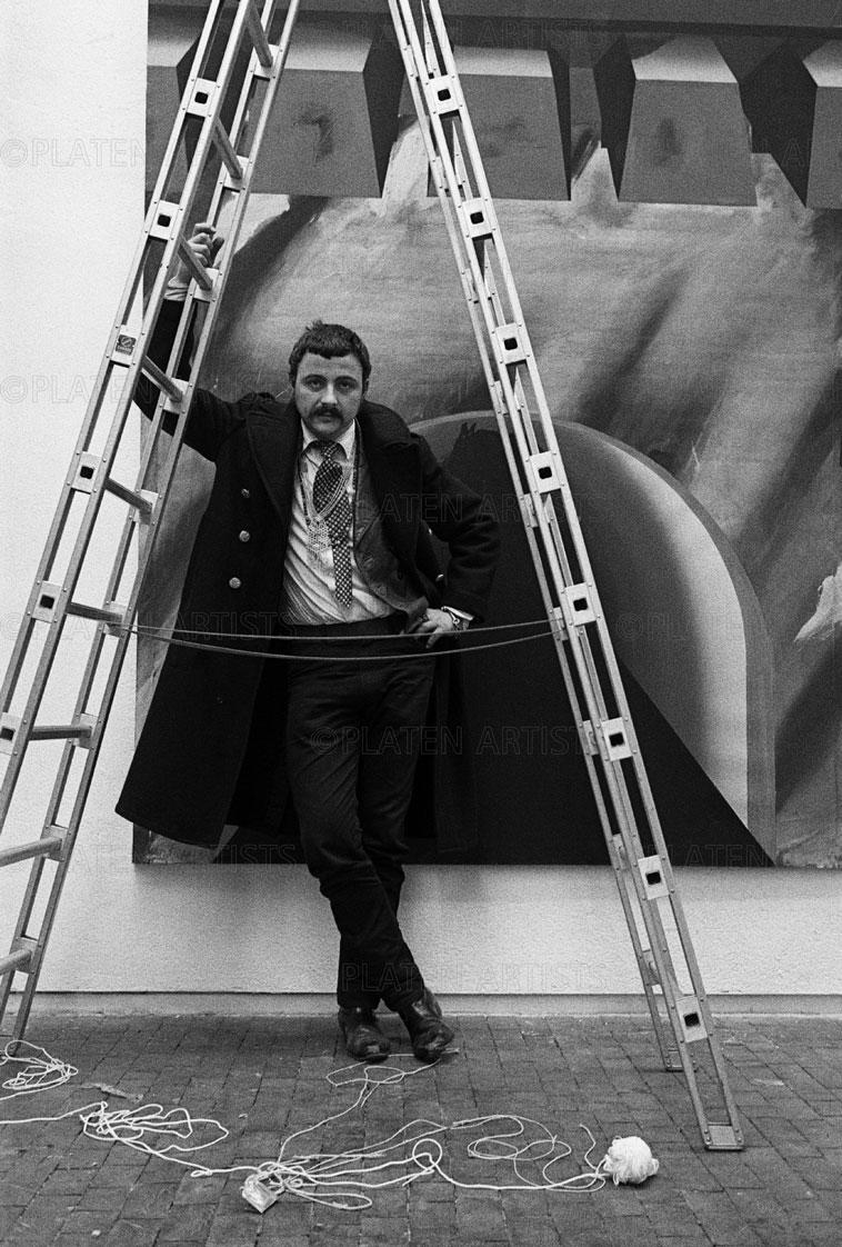 Markus Lüpertz, Siegesleiter, Berlin, 1970