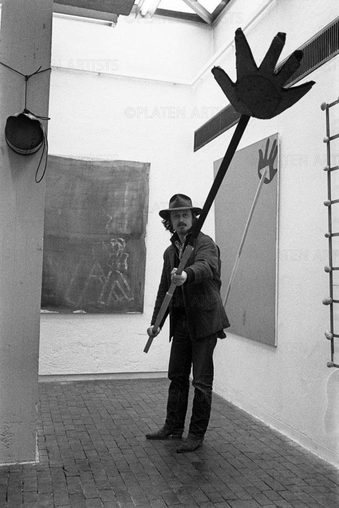 Karl Horst Hödicke, Große Handgabel, Berlin, 1970