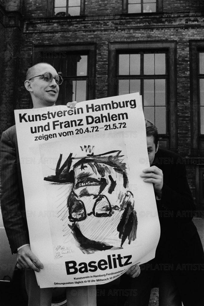 Georg Baselitz/Franz Dahlem, Kopfüber, Hamburg, 1972