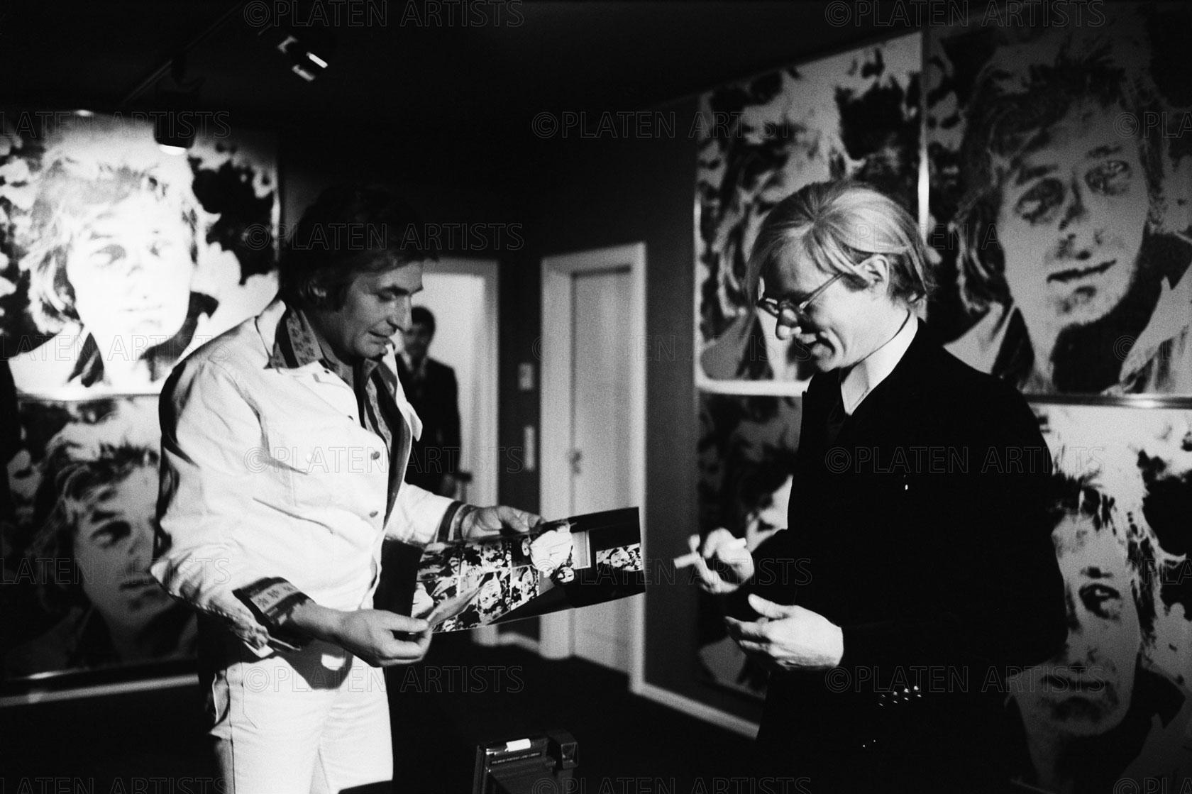 Andy Warhol/Gunter Sachs, Sechsmal Sachs, Hamburg, 1972