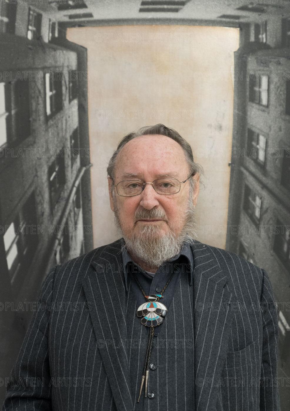 Karl Horst Hödicke, Im Schacht, Berlin, 2017