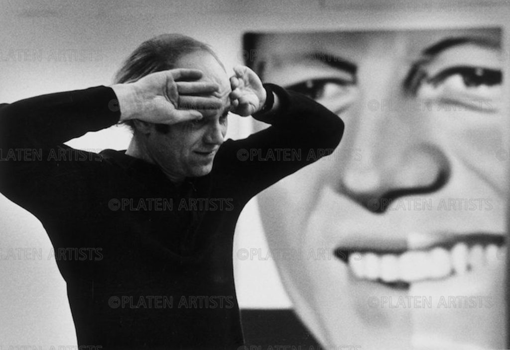 James Rosenquist, Hello, Mr. President, Köln, 1972