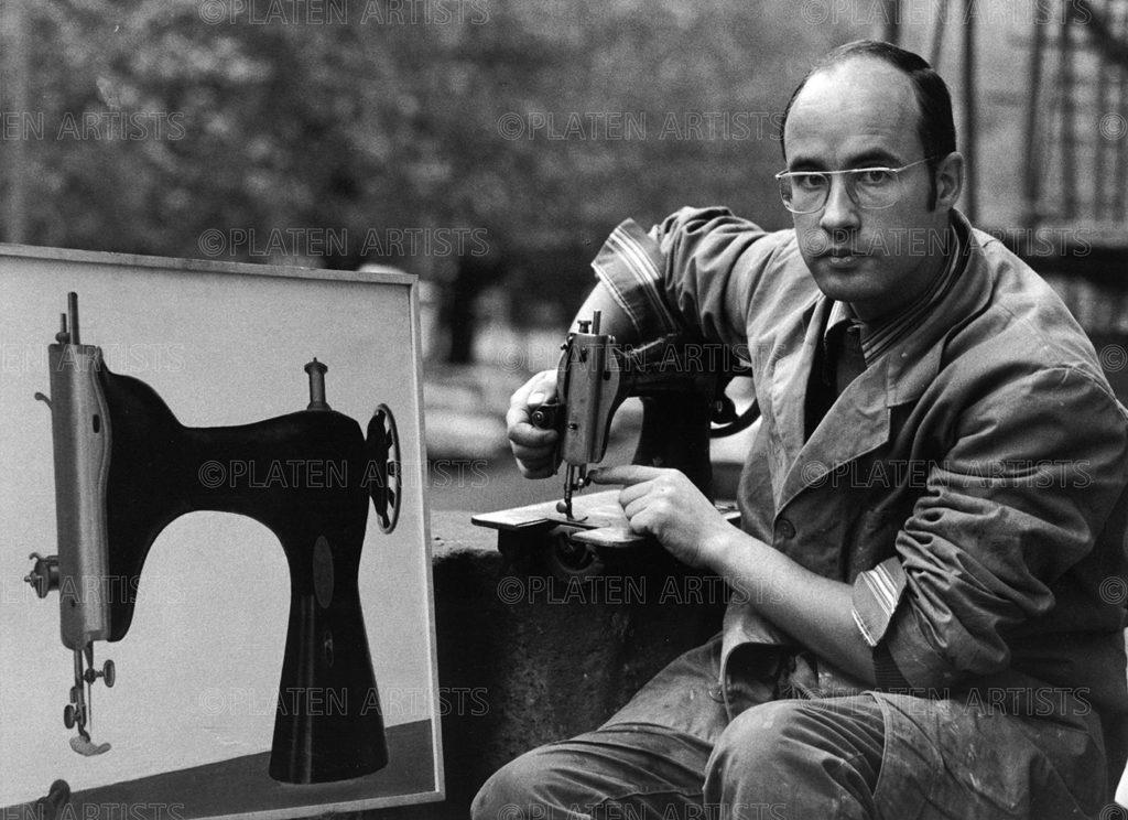 Konrad Klapheck, Künstler mit gekränkter Braut