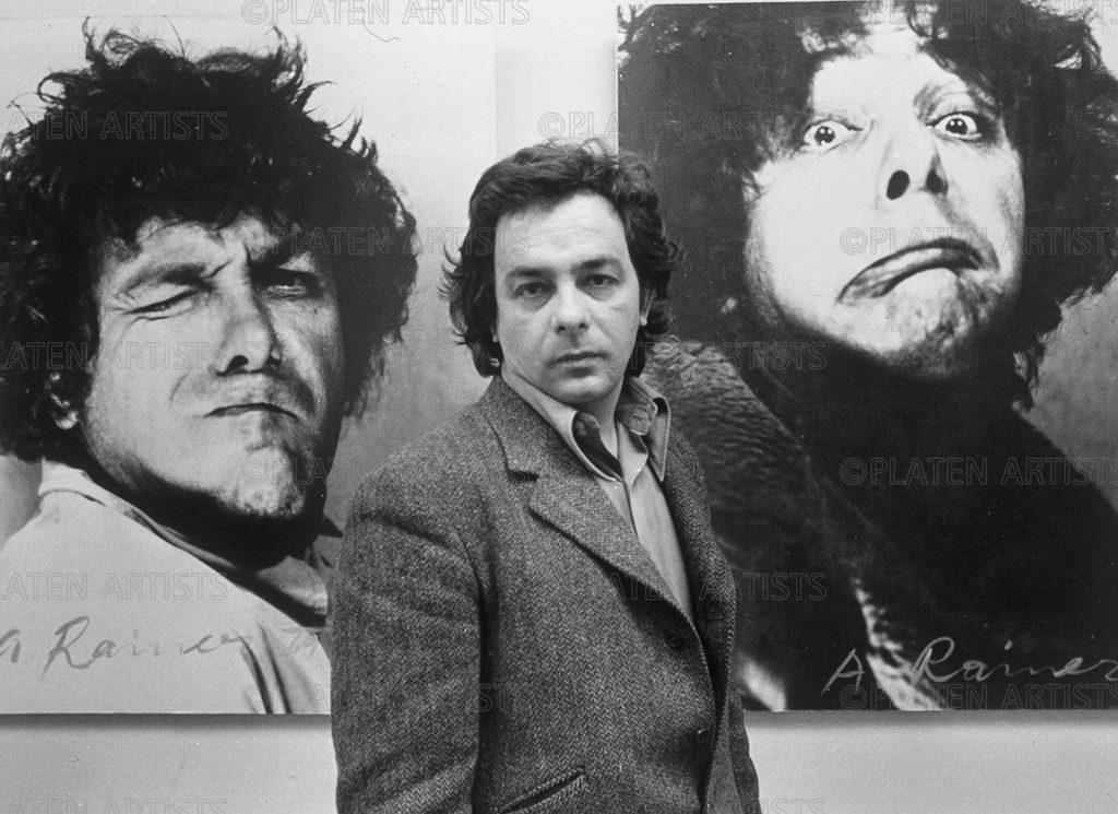 Arnulf Rainer, Fratzen schneiden, Köln, 1970