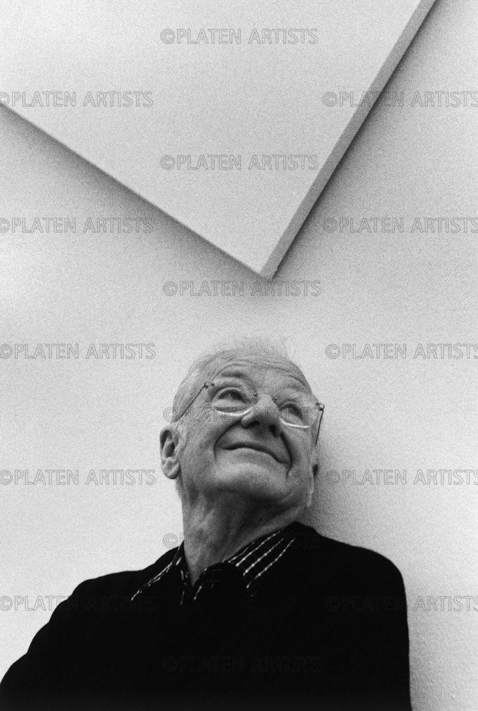 François Morellet, François zwischen den Zeiten, Paris, 2000