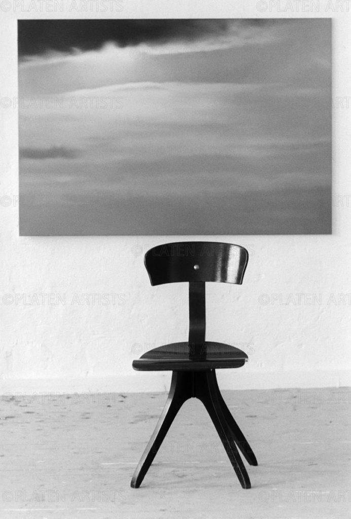 Gerhard Richter, Stuhl unter Wolken, Düsseldorf, 1971