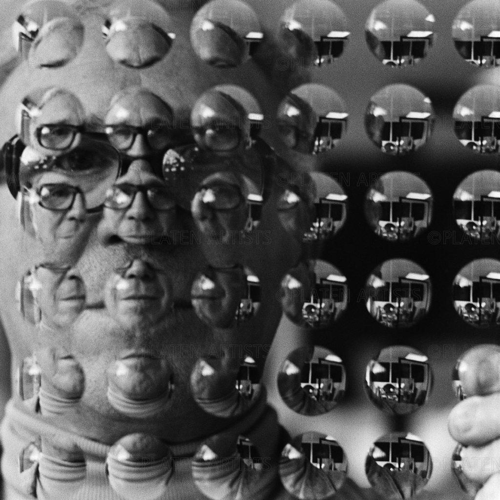Adolf Luthe, Multipliziertes Gesicht, Köln, 1973