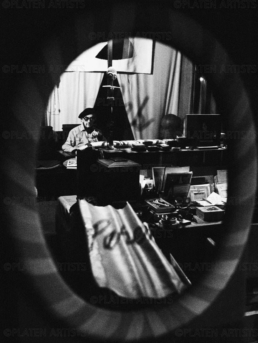 Man Ray, Spiegelbild, Paris, 1974