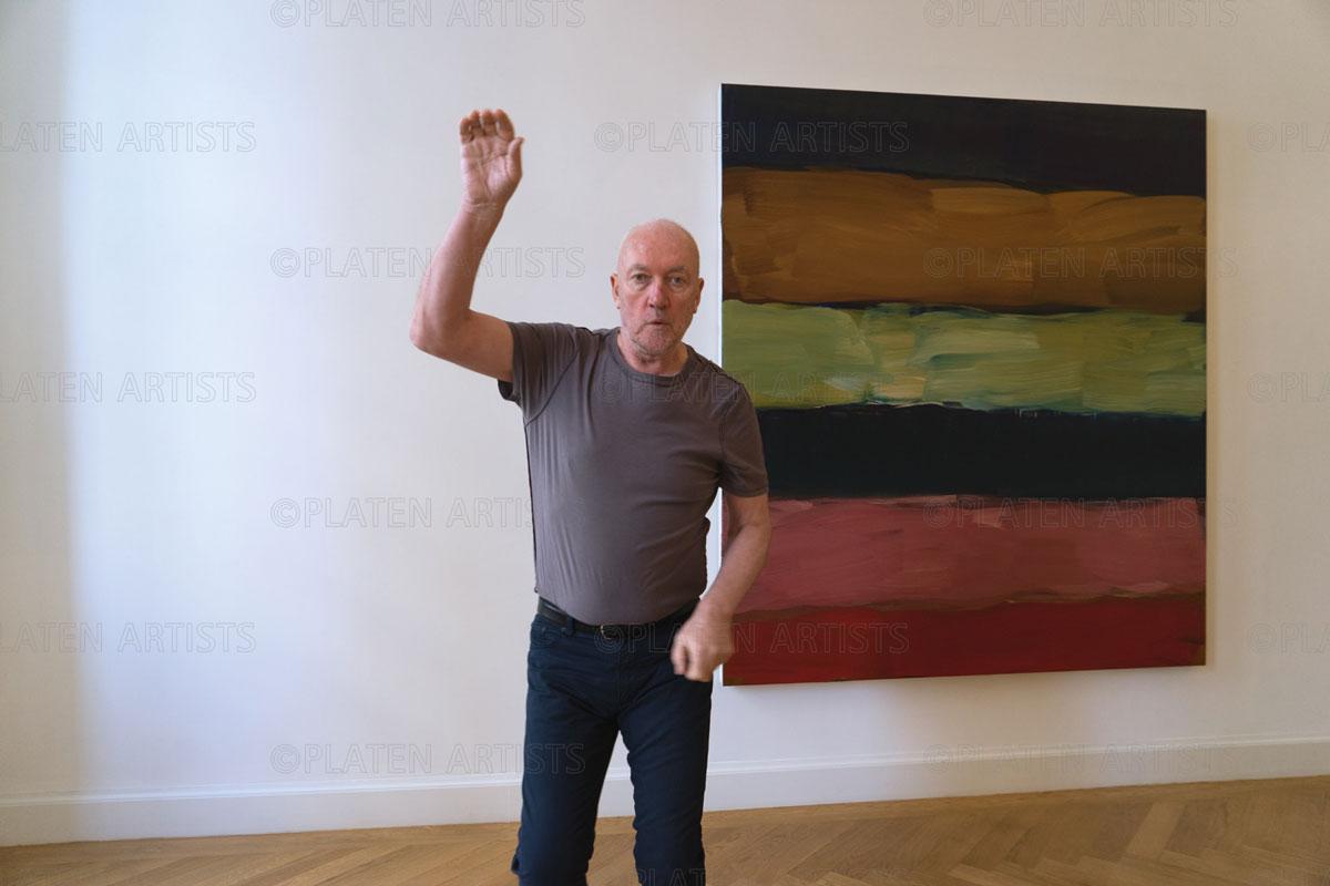 Sean Scully, Kampfstellung, Berlin, 2015