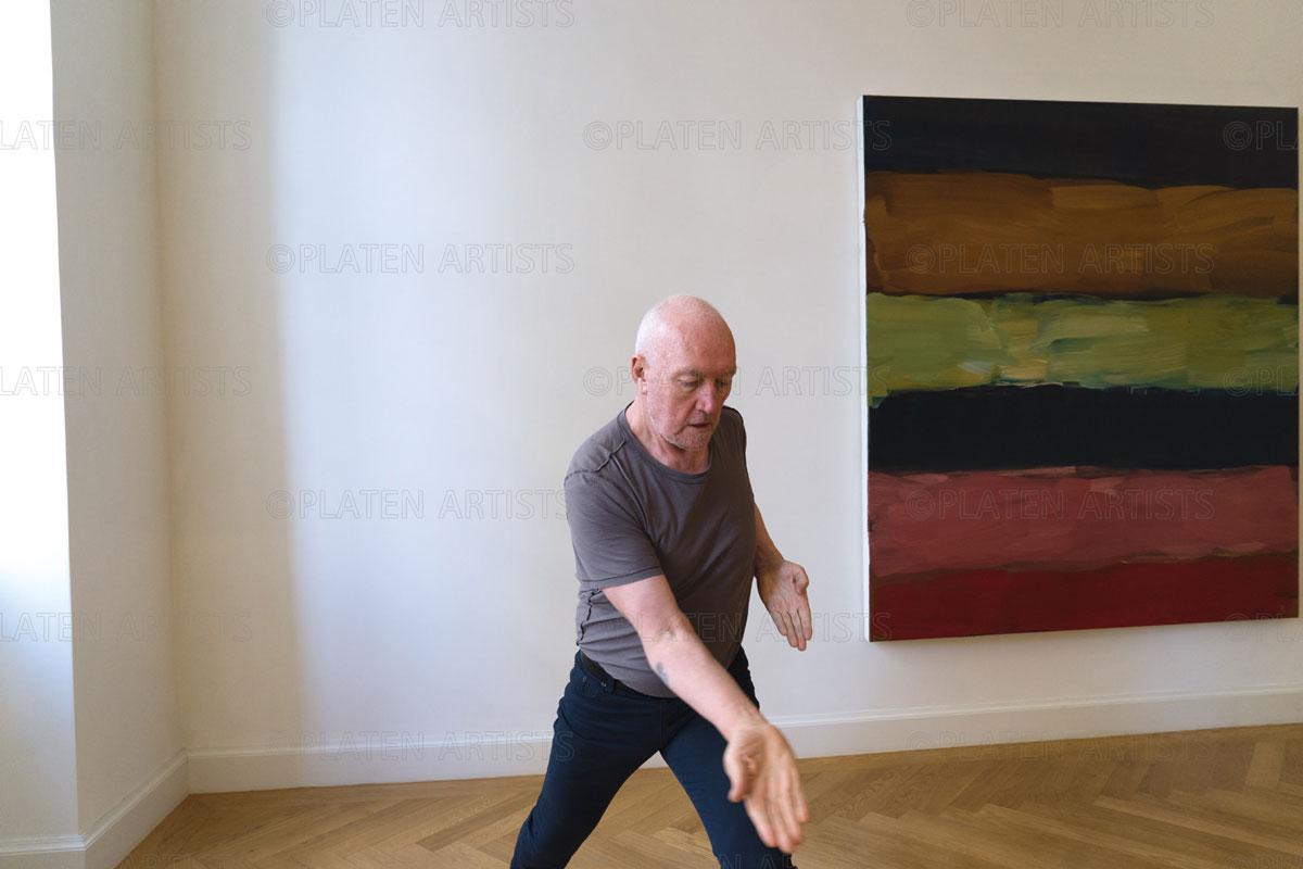 Sean Scully, Karate, Berlin, 2015
