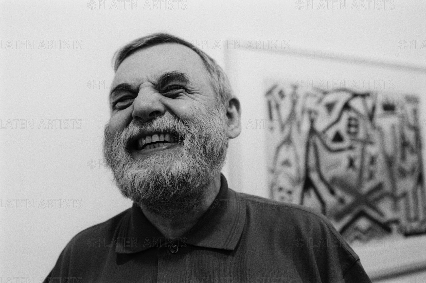 A.R. Penck, Muntermaler, Paris, 2003