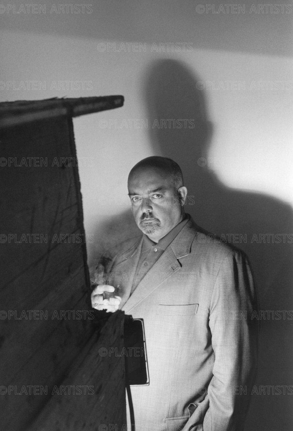Pedro Cabrita Reis, Strahlender Schatten, Berlin, 2002
